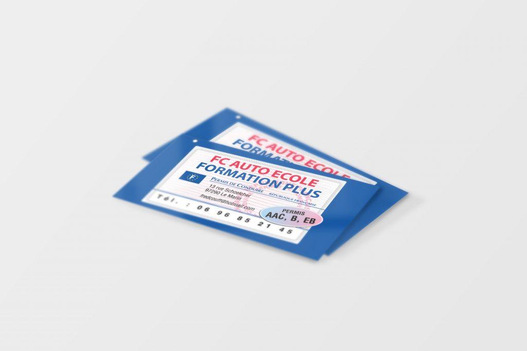 Business Card Mockup 01 (Free Version)