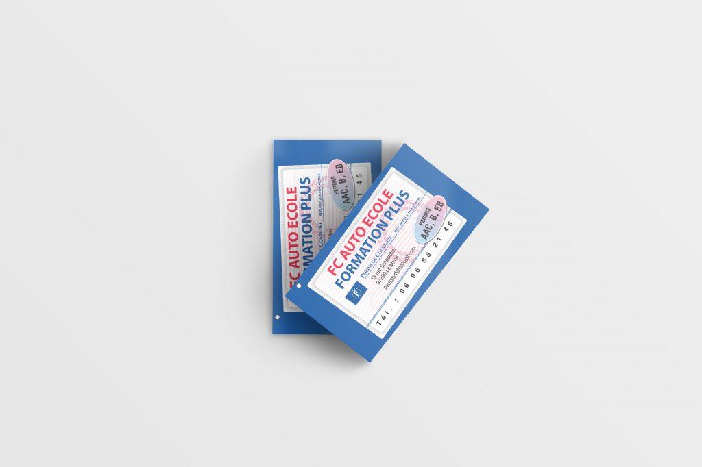Business Card Mockup 18 (Free Version)